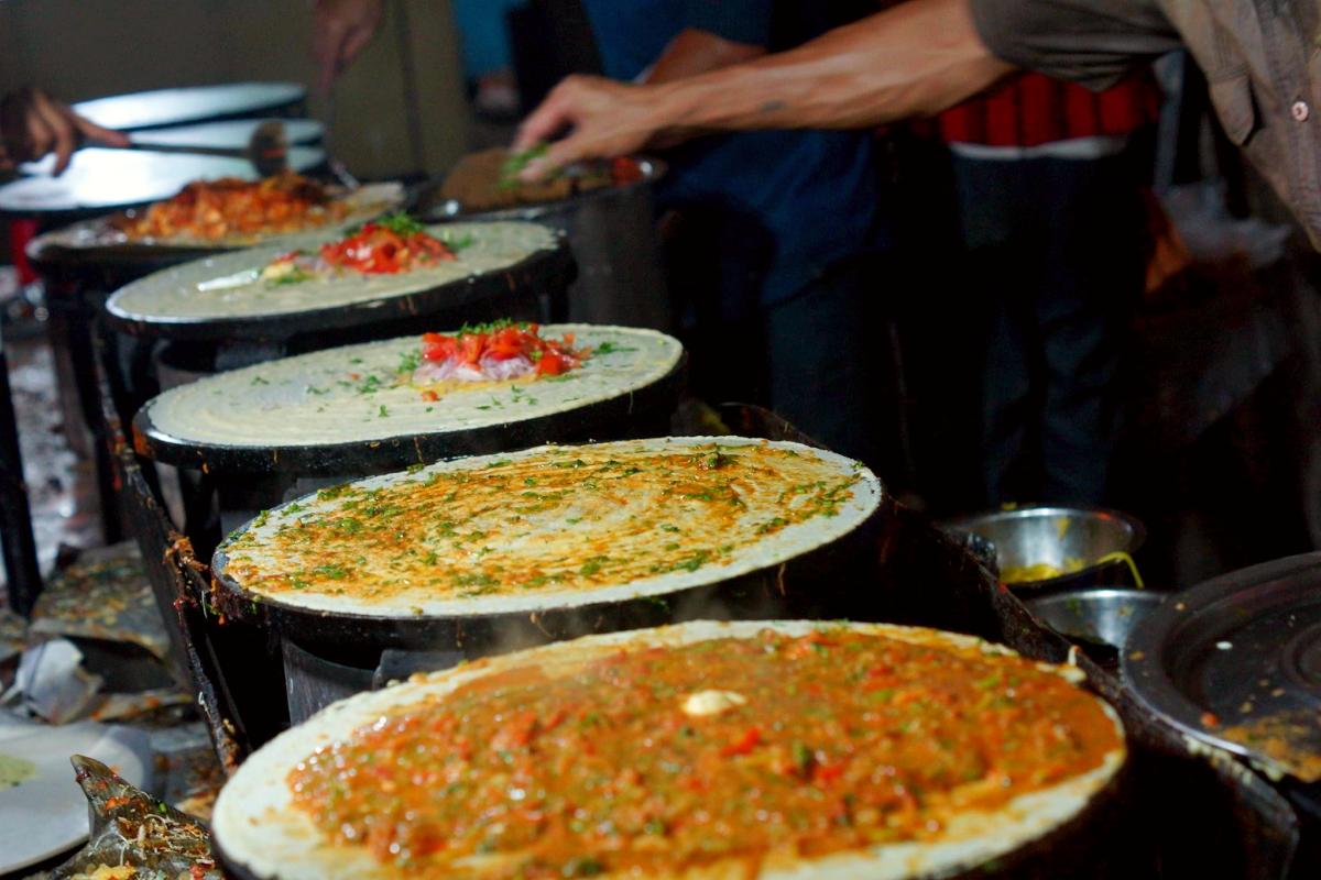Masala Dosa, best street food