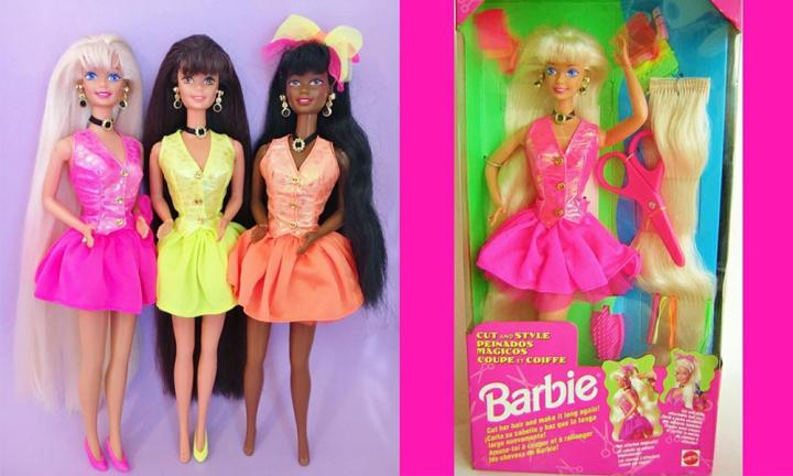 barbie 90s toys