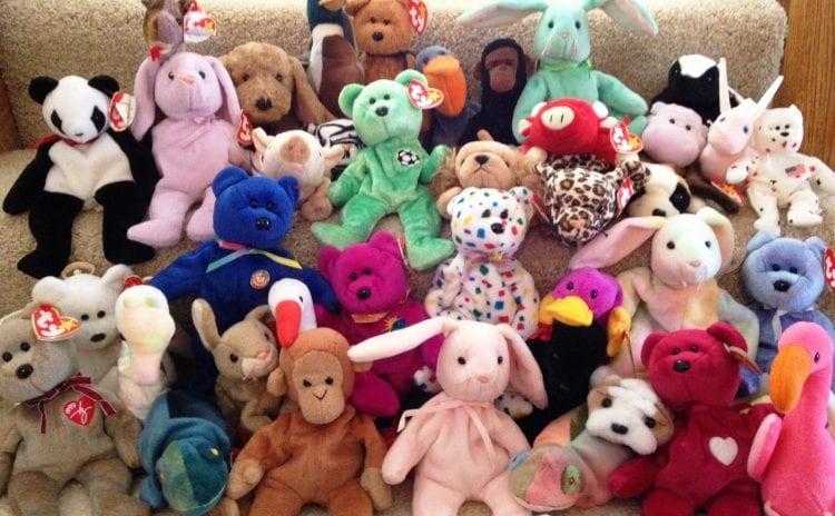 beanie babies 90s toys