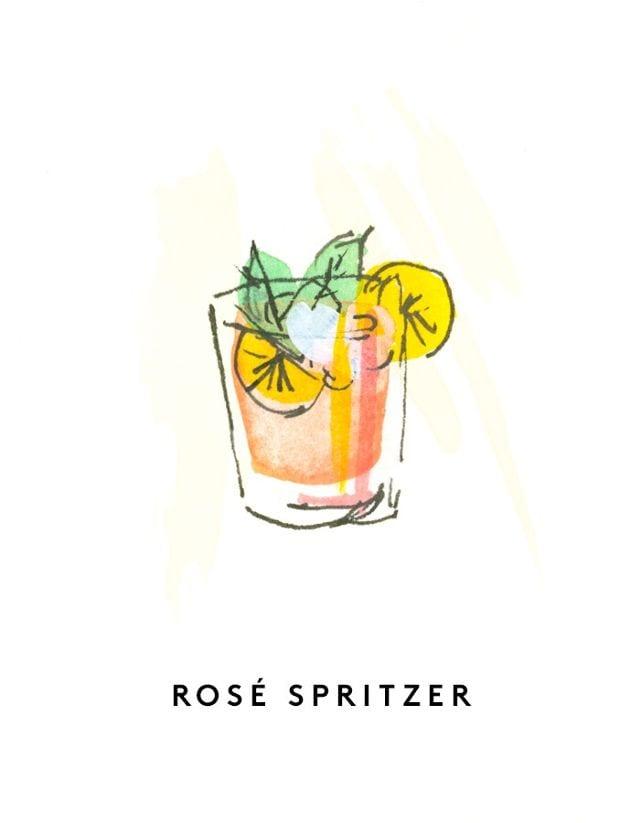 Best Rose Wines Rose Spritzer Cocktail