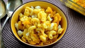 cauliflower recipes - mac and cheese