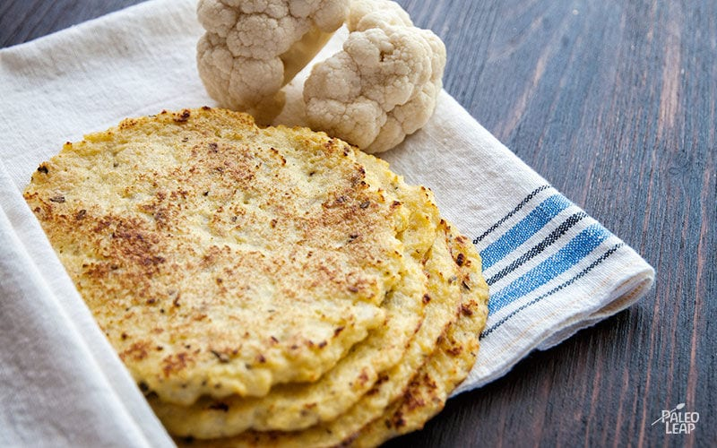 cauliflower recipes-tortillas