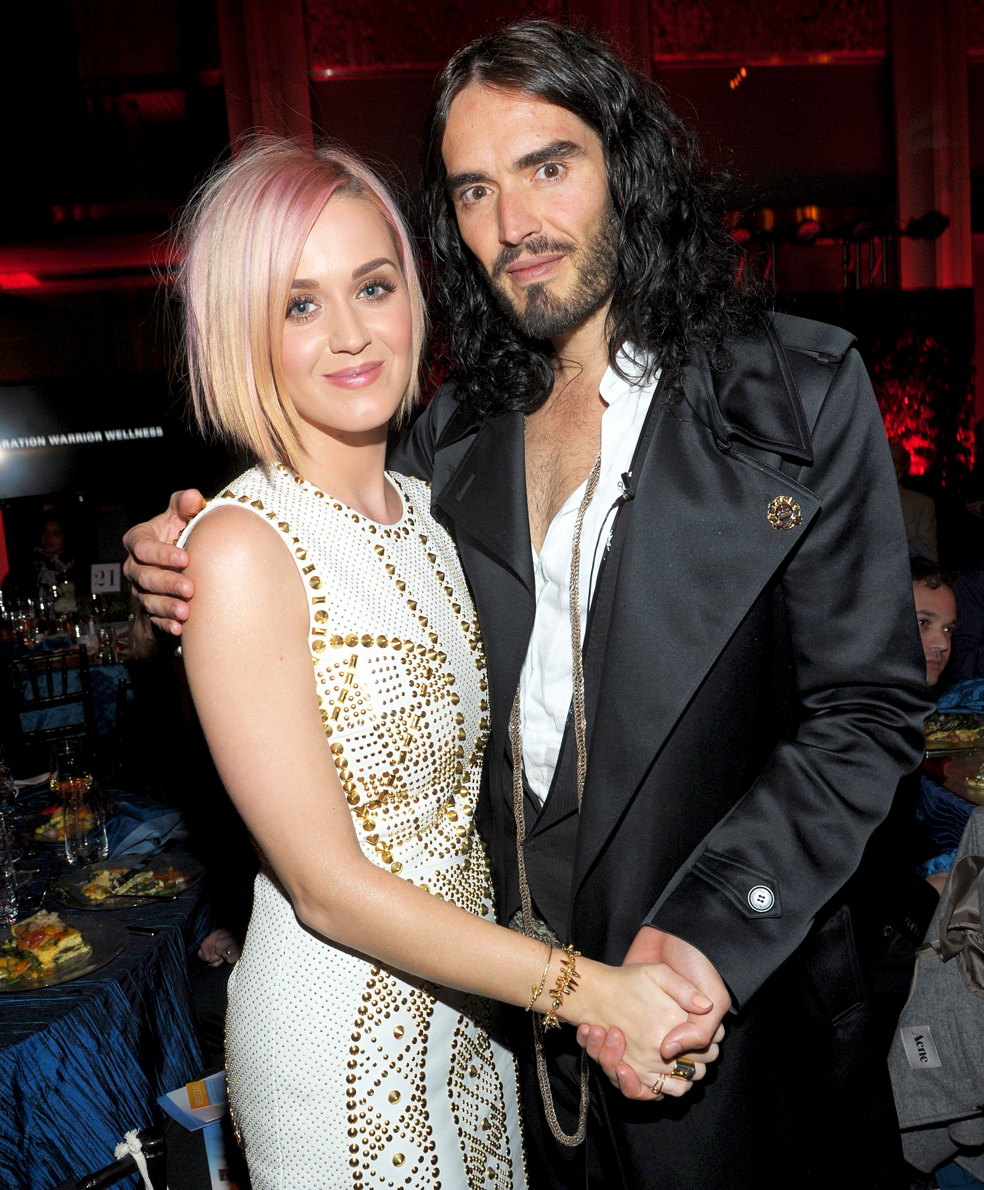 celebrity purchases katy perry russell brand