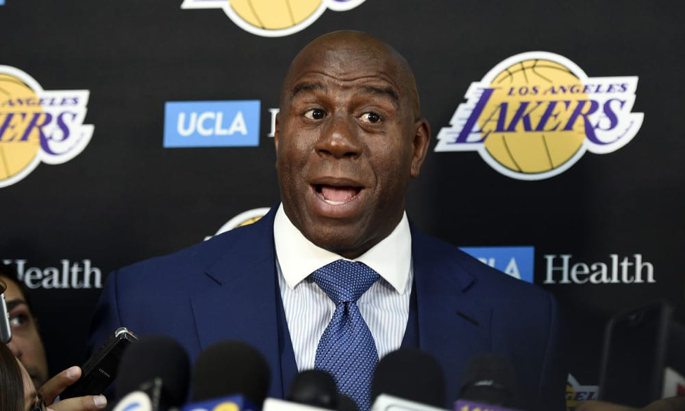 celebrity purchases magic johnson