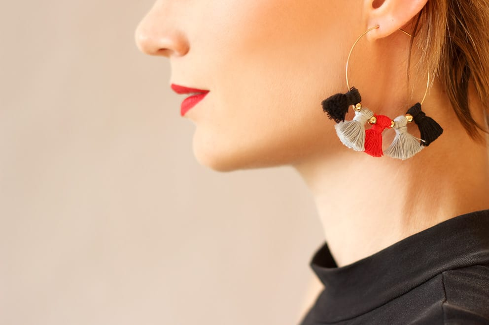 easy diy earrings