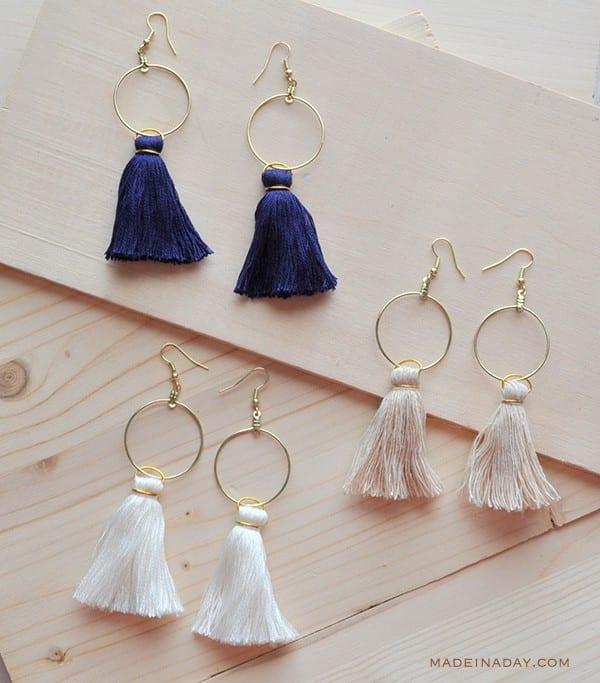 easy diy earrings