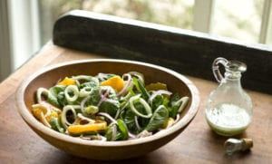 easy appetizer recipes spinach and orange salad