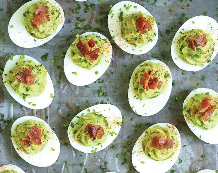 easy appetizer recipes avocado devilled eggs