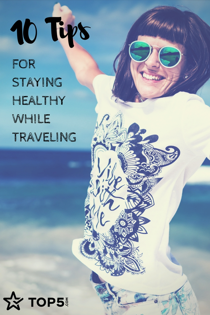 healthy traveling - Pinterest