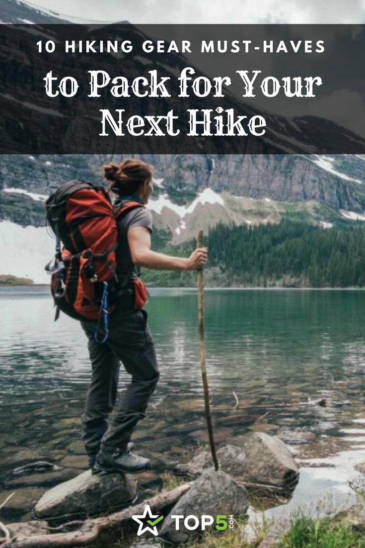 hiking gear - Pinterest