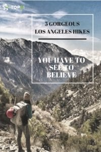 hiking in los angeles Pinterest