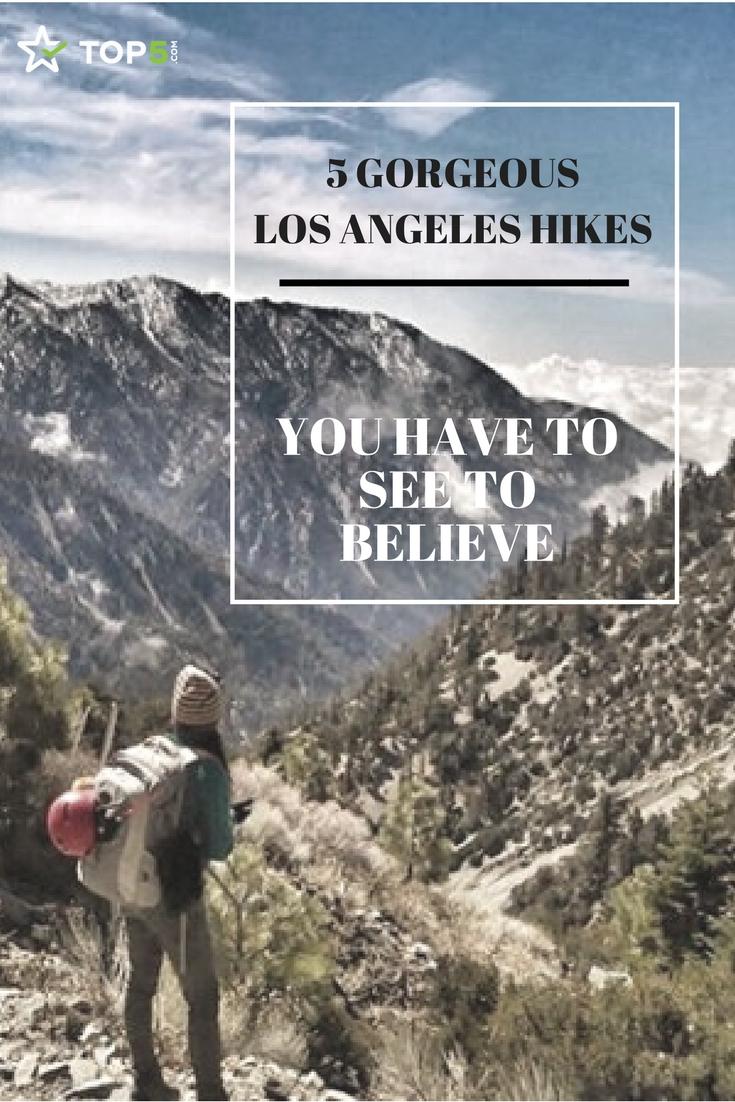 hiking in los angeles Pinterest