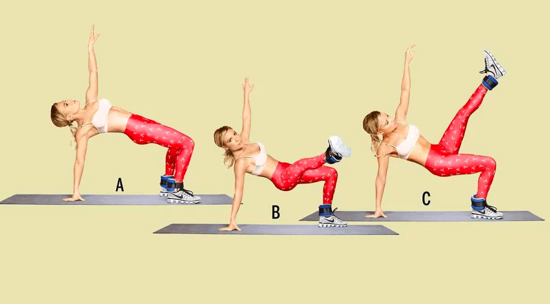 Leg Exercises Bridge Hold
