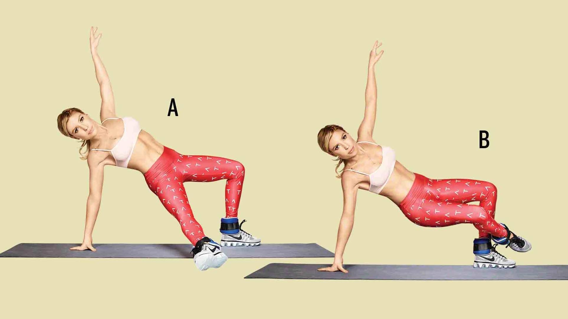 Leg Exercises Inner Thigh Tap