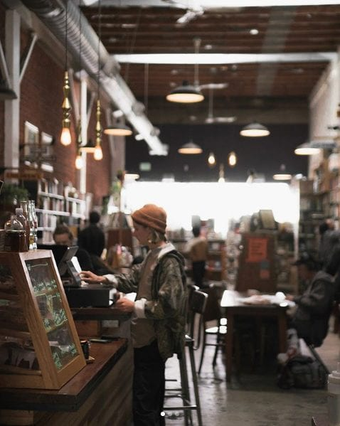 Stories and Books Cafe LA's Best Coffee Shops