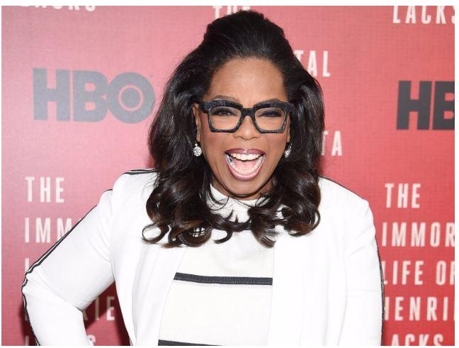 oprah on red carpet