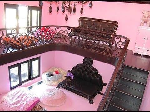 Paris Hilton Dog House Inside