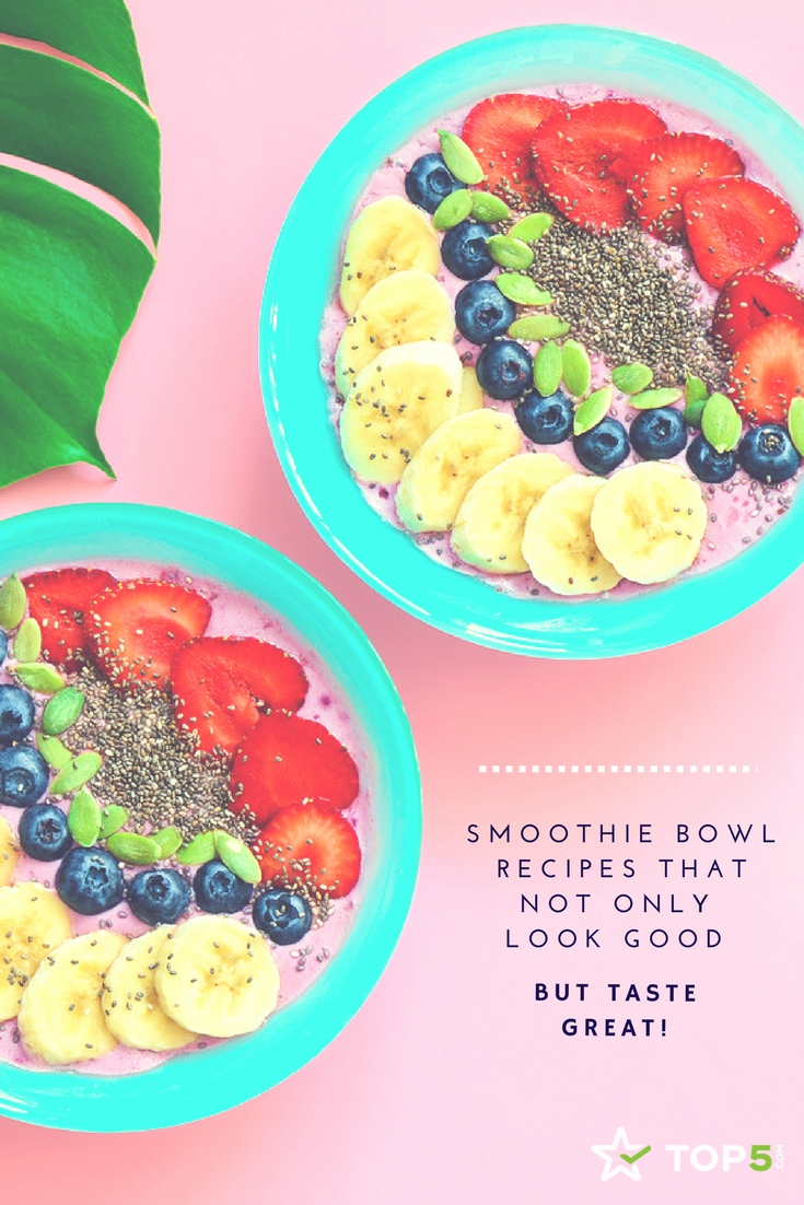 smoothie bowl Pinterest