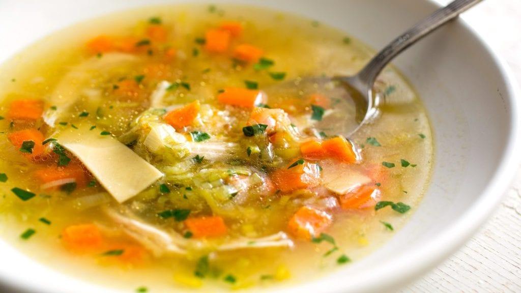 Best Soups When Sick Chicken Noodle
