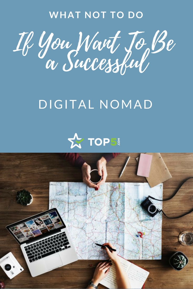 successful digital nomad - Pinterest