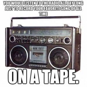 90s problems - recording