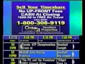 90s problems - tv guide