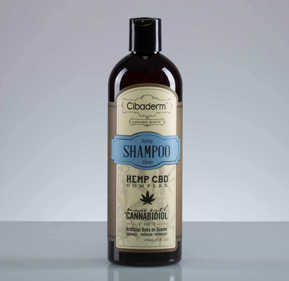 CBD Products Cibaderm Shampoo