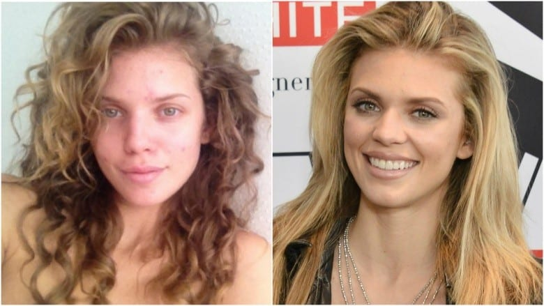 Celebrities Without Makeup AnnaLynne McCord
