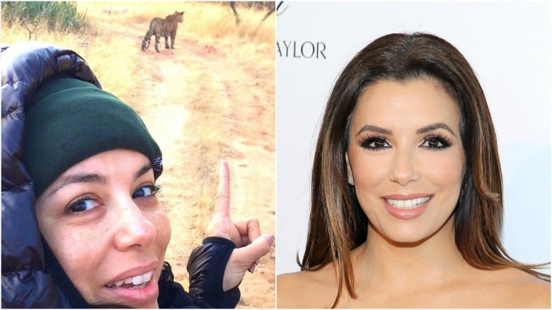 Celebrities Without Makeup Eva Longoria