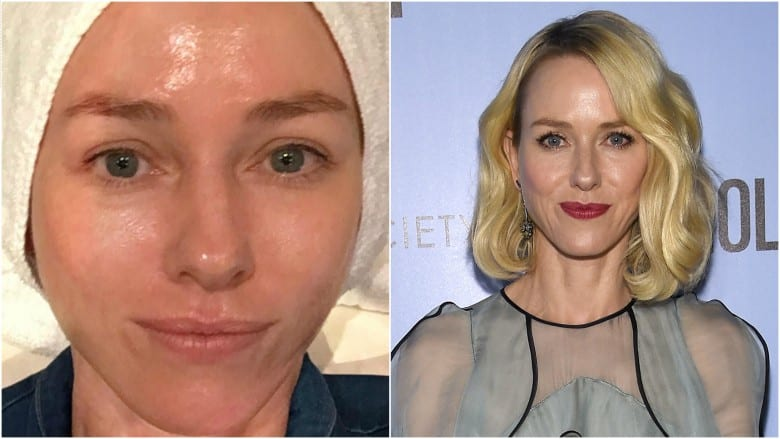 Celebrities Without Makeup Naomi Watts
