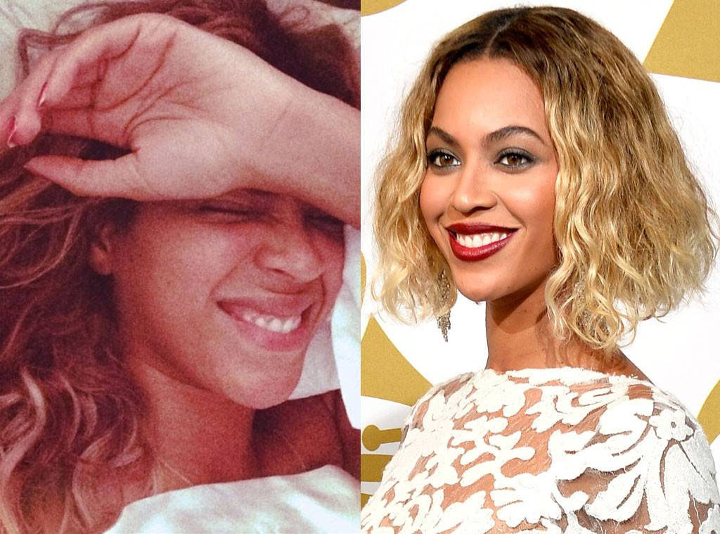 Celebrities Without Makeup Beyonce