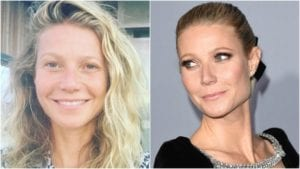 Celebrities Without Makeup Gwyneth Paltrow