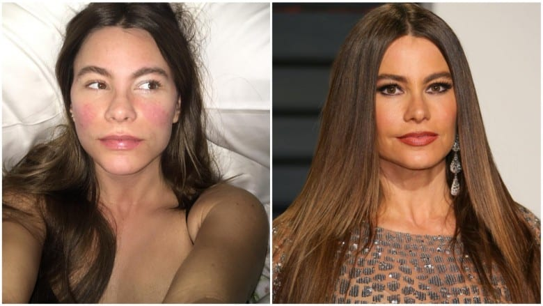 celebrities without makeup Sofia Vergara