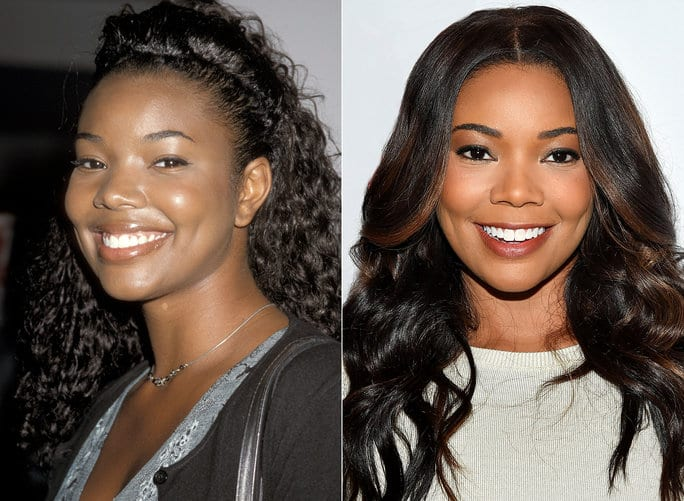 Celebrities Without Makeup Gabrielle Union