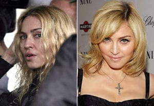 Celebrities Without Makeup Madonna