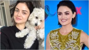 celebrities without makeup lucy hale