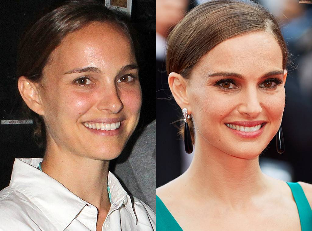 Celebrities Without Makeup Natalie Portman