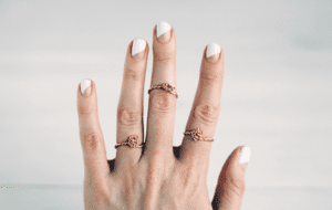 DIY jewelry twisted knot rings