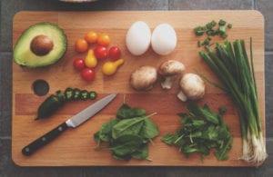 Food Apps choosing healthy ingrediets
