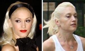 Celebrities Without Makeup Gwen Stefani