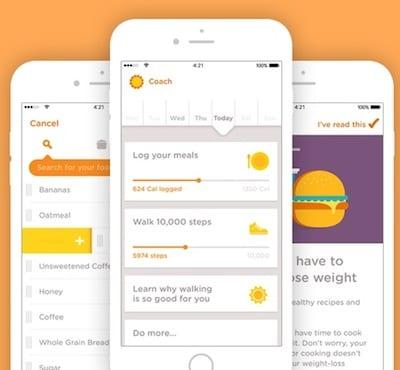Noom food app
