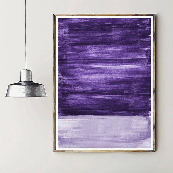 Pantone color abstract art