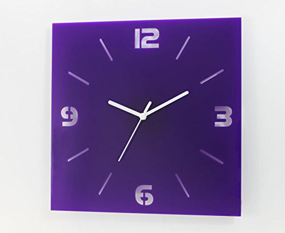 Pantone-color- square clock