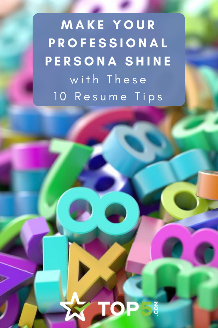 Resume Pinterest