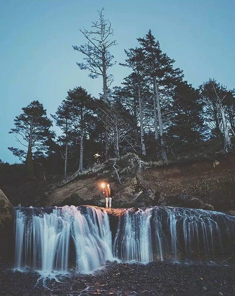 Waterfall travel photo