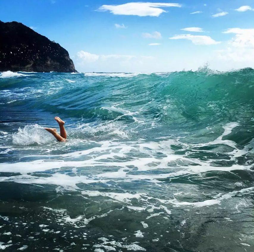 Ocean travel photographs