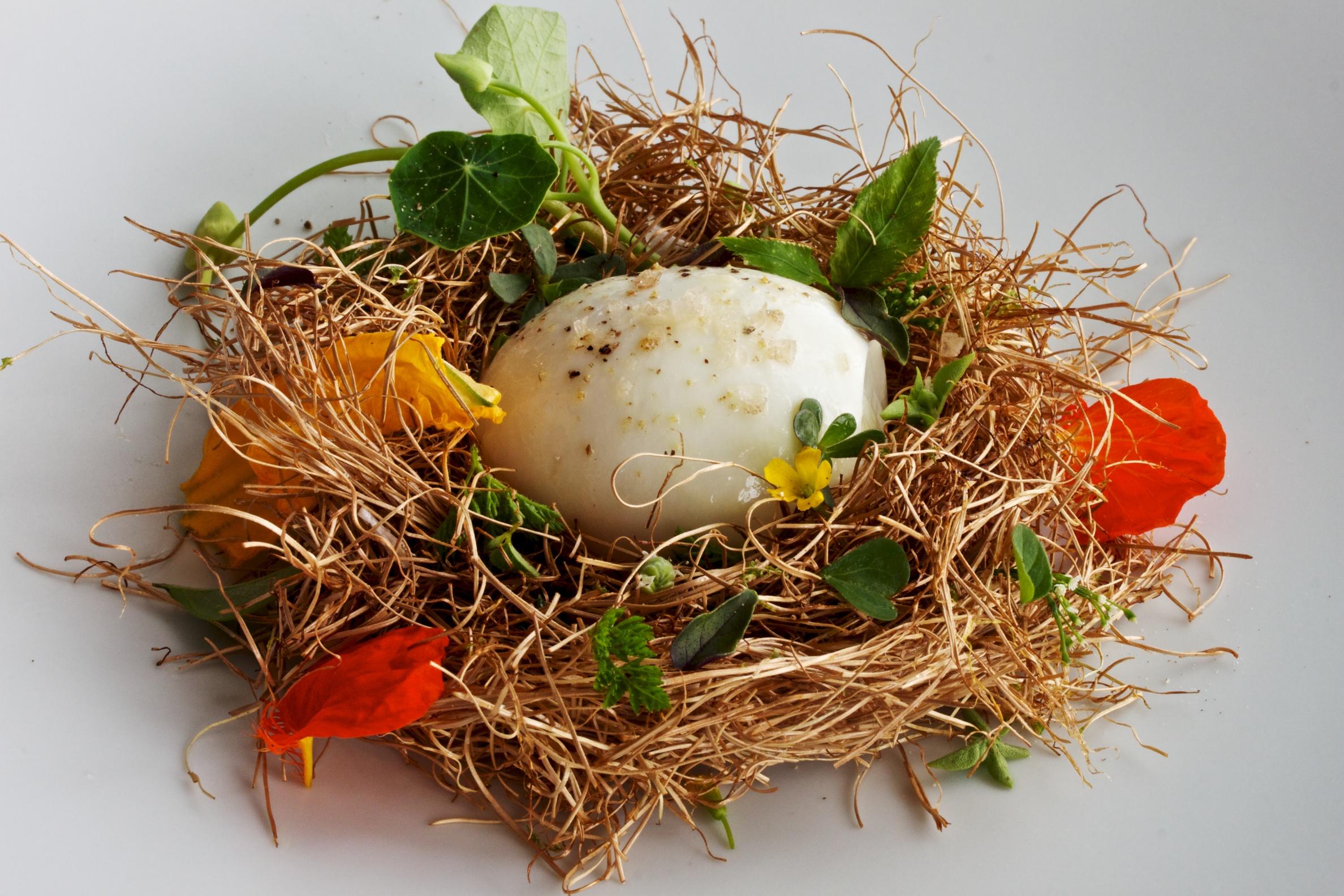 Spring Wedding Edible Nests