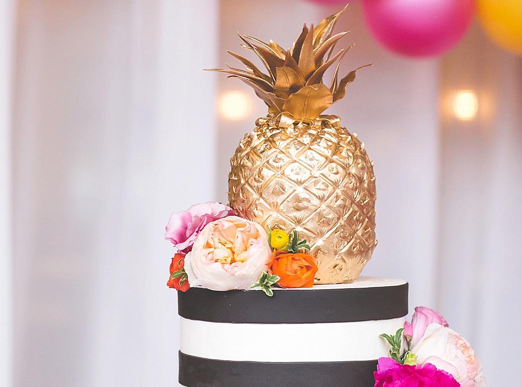 Spring Wedding Pineapple Cake