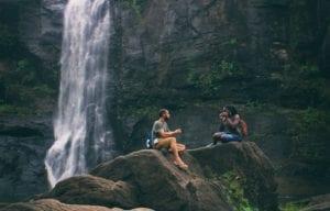 Summer Vacation Ideas Waterfall