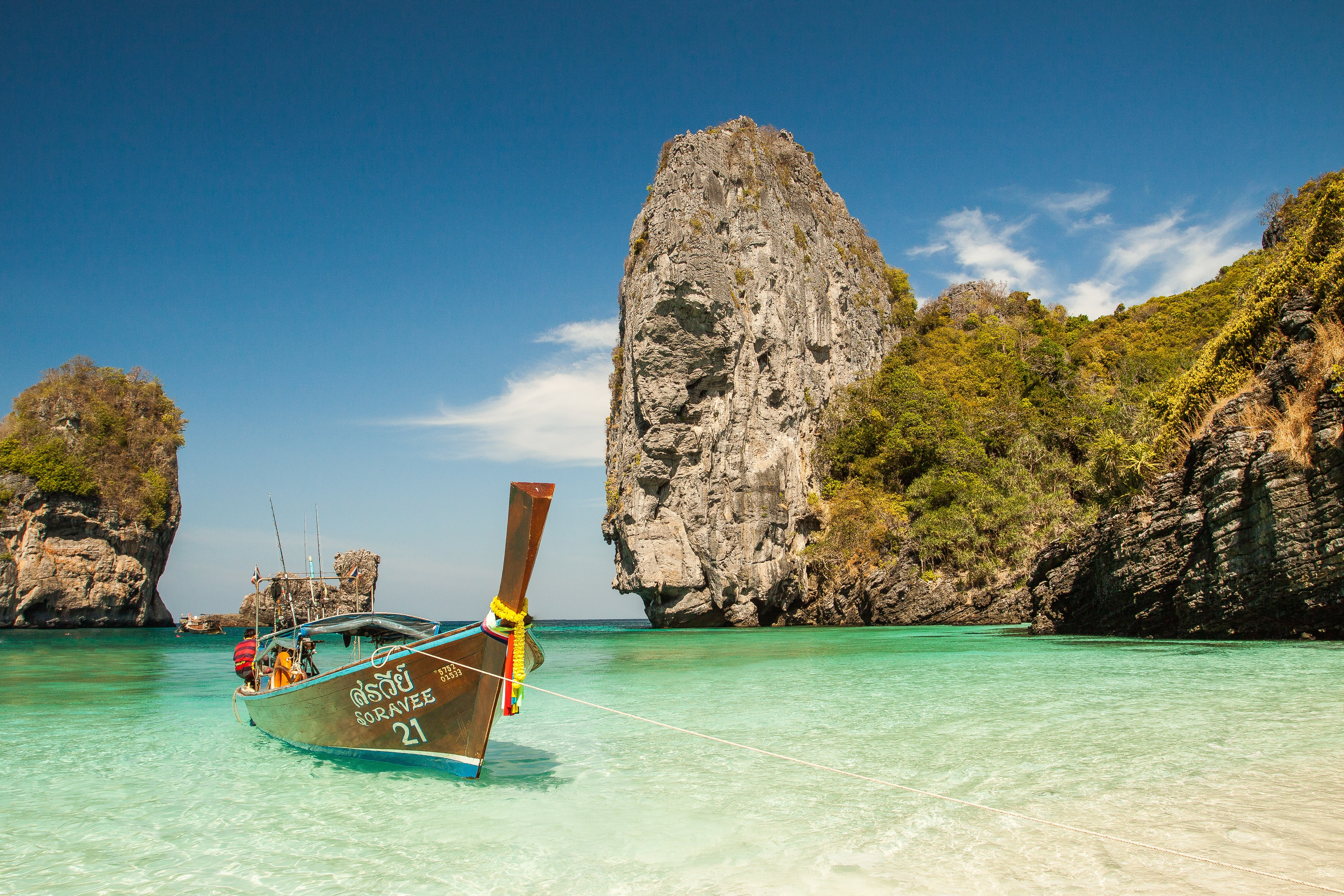 Summer Vacation Ideas Island Hopping Boat